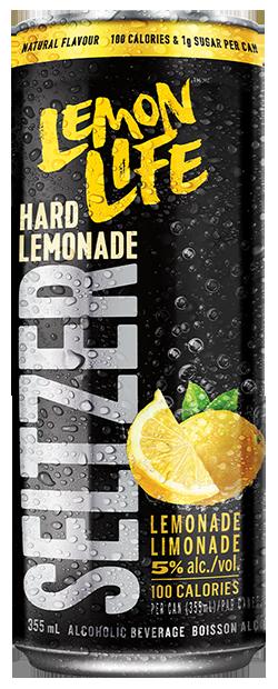 Lemon Life Seltzer - Lemonade flavour